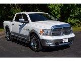 2012 Bright White Dodge Ram 1500 Laramie Crew Cab 4x4 #113819023