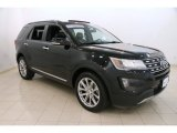 2016 Shadow Black Ford Explorer Limited 4WD #113819045