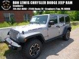 2016 Billet Silver Metallic Jeep Wrangler Unlimited Rubicon Hard Rock 4x4 #113818757