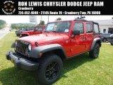 2016 Firecracker Red Jeep Wrangler Unlimited Sport 4x4 #113818754