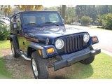 2006 Midnight Blue Pearl Jeep Wrangler X 4x4 #11352593