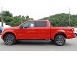 2016 Race Red Ford F150 XLT SuperCrew 4x4 #113847352