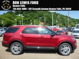 2016 Ruby Red Metallic Tri-Coat Ford Explorer XLT 4WD #113859768