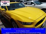 2016 Triple Yellow Tricoat Ford Mustang V6 Coupe #113859683