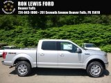 2016 Ingot Silver Ford F150 Lariat SuperCrew 4x4 #113859767