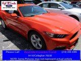 2016 Competition Orange Ford Mustang V6 Coupe #113859676