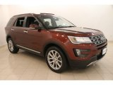 2016 Bronze Fire Metallic Ford Explorer Limited 4WD #113860029