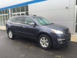 2013 Atlantis Blue Metallic Chevrolet Traverse LT AWD #113900575