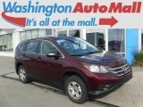 2013 Basque Red Pearl II Honda CR-V LX AWD #113900705