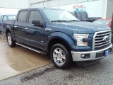 2016 Blue Jeans Ford F150 XLT SuperCrew #113900609
