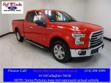 2016 Race Red Ford F150 XLT SuperCab #113900604