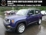 2016 Jetset Blue Jeep Renegade Latitude 4x4 #113900659