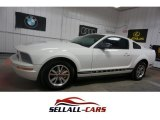 2005 Performance White Ford Mustang V6 Premium Coupe #113900462