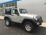 2011 Bright Silver Metallic Jeep Wrangler Rubicon 4x4 #113900578