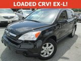 2009 Crystal Black Pearl Honda CR-V EX-L 4WD #113900522