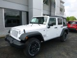 2016 Bright White Jeep Wrangler Unlimited Sport 4x4 #113940525
