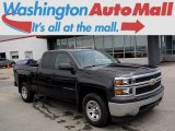 2014 Tungsten Metallic Chevrolet Silverado 1500 WT Double Cab 4x4 #113940447