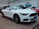 2016 Oxford White Ford Mustang EcoBoost Premium Convertible #113940350