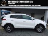 2017 Clear White Kia Sportage EX AWD #113940423