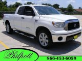 2007 Super White Toyota Tundra Texas Edition Double Cab #11352048