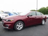 2016 Butte Red Metallic Chevrolet Malibu LS #113940486