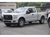 2016 Ingot Silver Ford F150 XL SuperCab 4x4 #113940478