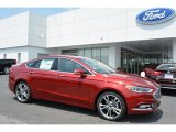 2017 Ruby Red Ford Fusion Titanium AWD #113940461