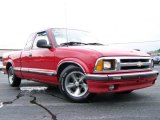 1996 Apple Red Chevrolet S10 LS Extended Cab #11339378