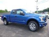 2016 Blue Flame Ford F150 XL SuperCab 4x4 #113999344