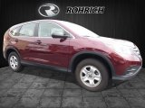 2013 Basque Red Pearl II Honda CR-V LX AWD #113999329