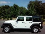 2016 Bright White Jeep Wrangler Unlimited Sport 4x4 RHD #113999287