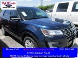 2016 Blue Jeans Metallic Ford Explorer XLT #114016540