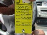 2014 Super Black Nissan Sentra S #114016582