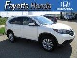 2013 White Diamond Pearl Honda CR-V EX AWD #114016824