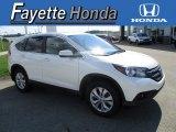 2013 White Diamond Pearl Honda CR-V EX AWD #114016823