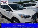 2017 White Platinum Ford Escape Titanium #114016564
