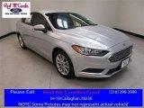 2017 Ingot Silver Ford Fusion Hybrid SE #114016563