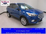 2017 Lightning Blue Ford Escape Titanium #114016561