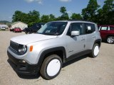 2016 Glacier Metallic Jeep Renegade Latitude 4x4 #114016689