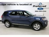 2016 Blue Jeans Metallic Ford Explorer XLT 4WD #114016426