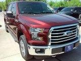 2016 Bronze Fire Ford F150 XLT SuperCrew 4x4 #114049815
