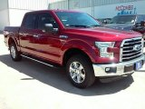 2016 Ruby Red Ford F150 XLT SuperCrew 4x4 #114049814
