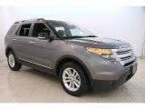2014 Sterling Gray Ford Explorer XLT 4WD #114050027