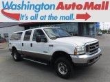 2004 Oxford White Ford F250 Super Duty Lariat Crew Cab 4x4 #114049861