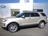 2017 White Gold Ford Explorer Limited 4WD #114050061