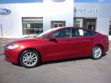 2017 Ruby Red Ford Fusion SE #114050058