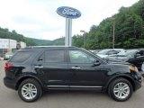 2014 Tuxedo Black Ford Explorer XLT 4WD #114049901