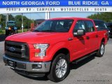 2016 Race Red Ford F150 XLT SuperCrew 4x4 #114049668
