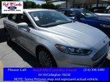 2016 Ingot Silver Metallic Ford Fusion Titanium #114078859