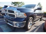 2014 True Blue Pearl Coat Ram 1500 Big Horn Quad Cab #114078984